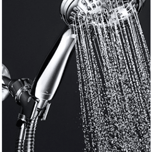 ShowerMaxx Shower Head Premium 6 Spray Settings | Luxury Spa Detachable Handheld Showerhead