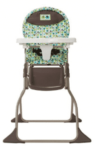 Cosco Simple Fold High Chair, Elephant Squares, Baby Trend High Chairs