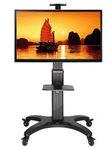 "North Bayou Mobile TV Cart TV STAND with Mount for 32"" - TV Stand With Mountss 65 inch LED"