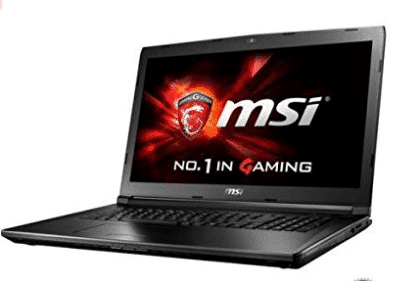 "MSI GL72 17.3"" 1920x1080 Gaming Laptop"