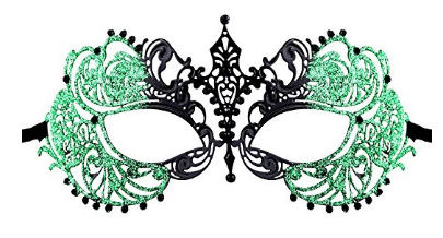 Luxury Mask Women's Laser Cut Metal Venetian Pretty Masquerade Mask, Masquerade Masks for Women