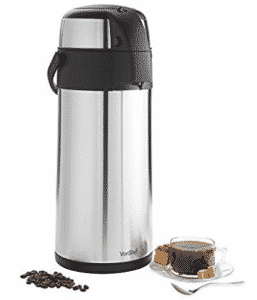 VonShef Thermal Airpot Carafe Coffee / Beverage Dispenser
