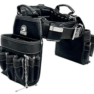 TradeGear Medium Electricians Combo Belt & Bags, Maximum Comfort