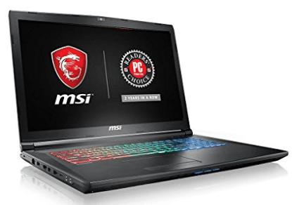 "MSI GP72VRX Leopard Pro-473 17.3"" 120Hz 5ms Display Thin and Light Gaming Laptop GTX 1060 3G Core i7"