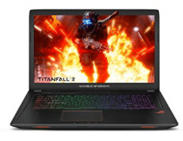 "ASUS ROG Strix GL753VD 17.3"" Gaming Laptop GTX 1050 4GB Intel Core i7-7700HQ"