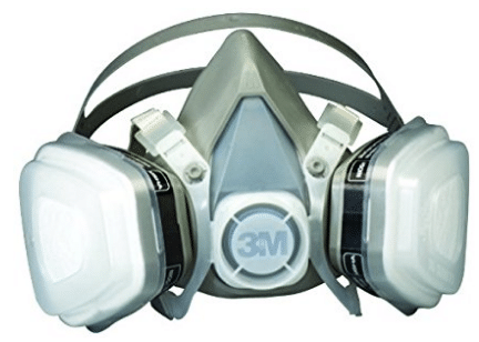 3M 07193 Dual Cartridge Respirator Assembly