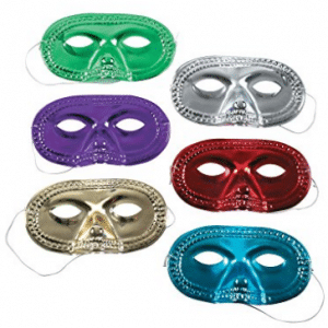 Metallic Half-Masks