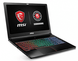 "MSI GS63VR Stealth Pro-469 15.6"" Ultra Thin and Light Gaming Laptop i7-6700HQ"