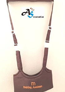 A&S Creavention® BabyWalker Baby Walking Protective Belt Carry Trooper Walking Harness Learning Assistant