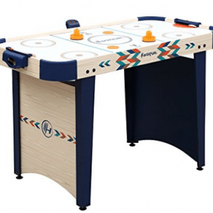 Harvil 4 Foot Air Hockey Game Table for Kids and Adults with Electronic Scorer
