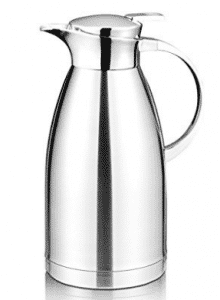 64 Oz Coffee Thermal Carafe with Lid - 18/10 Stainless Steel Coffee Thermos Carafe by Hiware