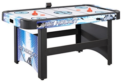 Hathaway Face-Off 5-Foot Air Hockey Game Table for Family Game Rooms with Electronic Scoring