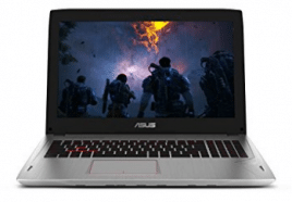 ASUS ROG Strix G-SYNC 120 Hz Full HD VR Ready Ultra Thin and Light Gaming Laptop Computer GeForce GTX 1070 8GB Core i7-7700HQ