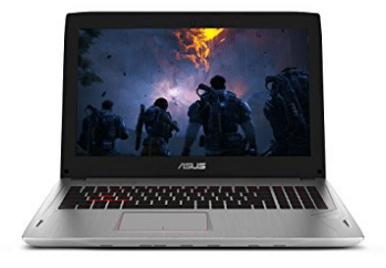 ASUS ROG Strix G-SYNC 120 Hz Full HD VR Ready Ultra Thin and Light Gaming Laptop Computer GeForce GTX 1070 8GB Core i7-7700HQ