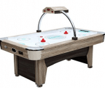 Harvil Beachcomber 7 Foot Air Hockey Table with Overhead Scorer