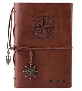 MALEDEN P-TND-HY48002-zong Leather Writing Journal Notebook