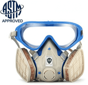 [ASTM Certified]SanSiDo Respirator Gas Mask Safety Mask Comprehensive Cover Paint Chemical Mask