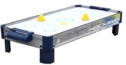 Harvil 40-Inch Tabletop Air Hockey Table with Powerful Electronic Blower
