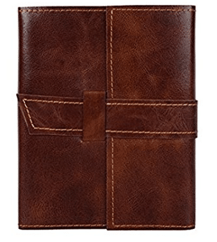 Handmade Leather Journal Notebook Refillable Diary for Men Women Writers Artist Poet Gift for Him Her