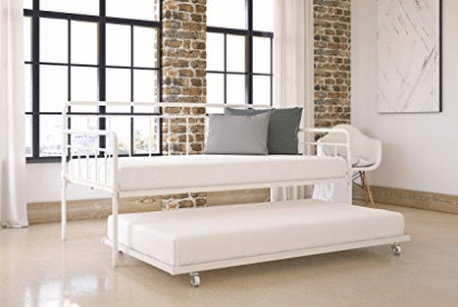 Modern Wallace Daybed with Trundle Comb