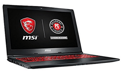 "MSI GL62M 7REX-1896US 15.6"" Full HD Thin and Light Gaming Laptop Computer Quad Core i7-7700HQ"