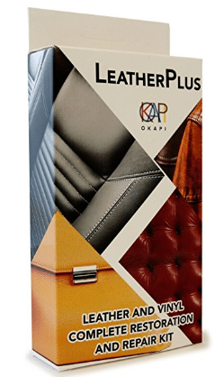 LeatherPlus - Leather and Vinyl Repair and Restoration Kit for Couch