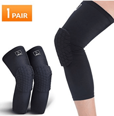 Basketball Knee Pads, Compression Leg Sleeve