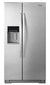 Whirlpool WRS571CIDM 20.6 Cu. Ft. Stainless Steel Counter Depth Side-By-Side Refrigerator