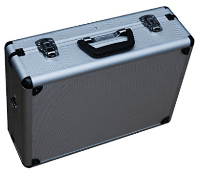 Vestil CASE-1814 Rugged textured Carrying Case with rounded corners