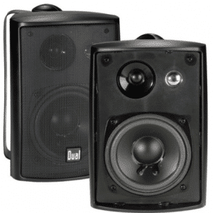 Dual Electronics LU43PB 4 inch 3-Way High Performance Indoor