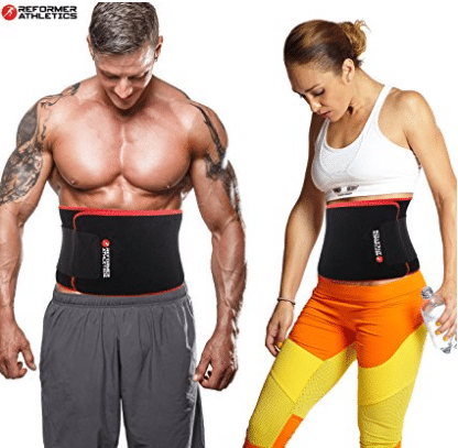 Waist Trimmer Ab Belt Trainer for Faster Weight Loss