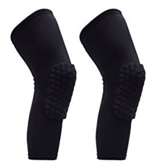 Reachs 1 Pair / 2 Pcs Kneepad Honeycomb Knee Pads Leg Knee Sleeve