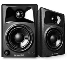 M-Audio AV32 | 10-Watt Compact Studio Monitor Speakers with 3-inch Woofer