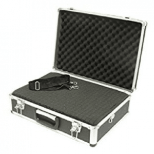 SRA Cases Aluminum Hard Case with Foam Insert