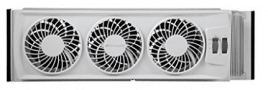 Bionaire BWF0502M-WM Thin Window Fan