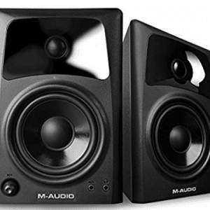M-Audio AV42 | 20-Watt Compact Studio Monitor Speakers with 4-inch Woofer