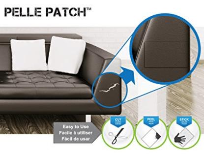 Leather & Vinyl Adhesive Repair Patch