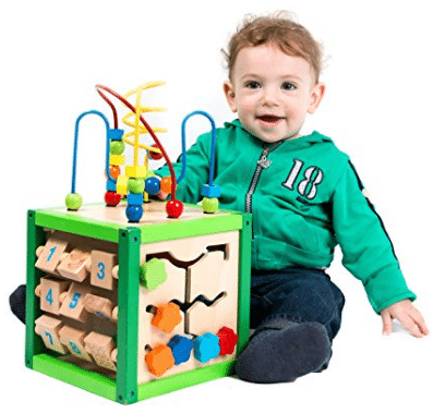 My First Learning Bead Maze Cube Activity Center by Kids Destiny