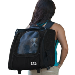 Pet Gear I-GO2 Sport Roller Backpack for cats and dogs up