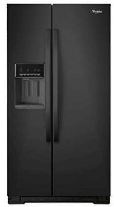 Whirlpool WRS571CIDB WRS571CIDB 20.6 Cu. Ft. Black Counter-Depth Side-by-Side Refrigerator