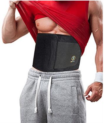 Just Fitter Premium Waist Trainer & Trimmer Belt For Men & Women