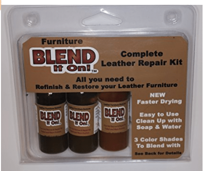 Leather Repair Kits For Couches Blend It On Complete Refinish