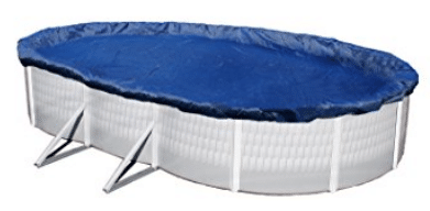 Blue Wave Gold 15-Year 18-ft x 34-ft Oval Above Ground Pool Winter Cover