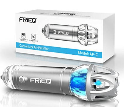 Car Air Purifier, FRiEQ Car Air Freshener and Ionic Air Purifier