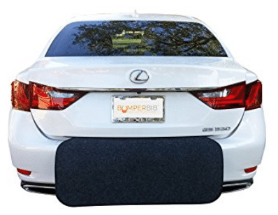 Rear Bumper Protector (Black) | Bumper Guard