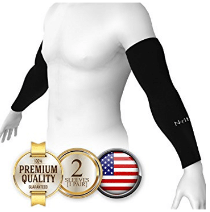 N-rit Coolet Compression Sleeves for the Arm and Elbow