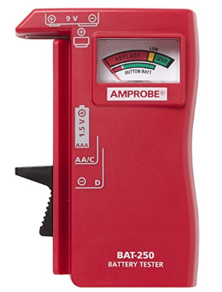 Amprobe BAT-250 Battery Tester