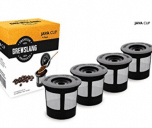 Brewslang Single Reusable K-cup Coffee Filter for Keurigs
