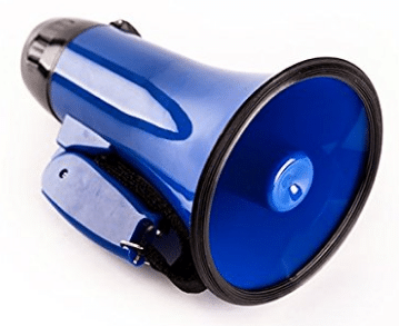 Sugar home Portable megaphone bullhorn 20 Watt Power Megaphone Speaker Voice