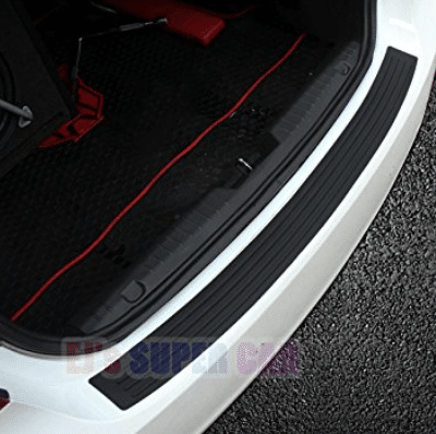 Rear Bumper Protector,EJ's SUPER CAR Rear Bumper Guard Rubber and Rear Guard Bumper Protector
